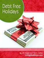 Ebook cover: Debt Free Holidays