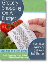 Ebook cover: Grocery Shopping On A Budget