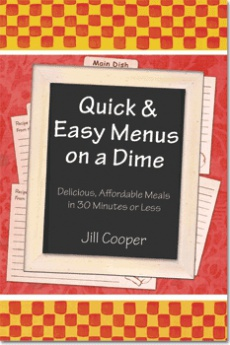 Ebook cover: Quick And Easy Menus on a Dime