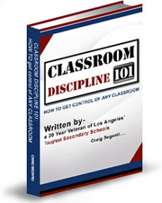 Ebook cover: Classroom Discipline 101