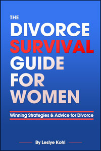 Ebook cover: Divorce Survival Guide for Women