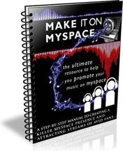 Ebook cover: Make It On MySpace
