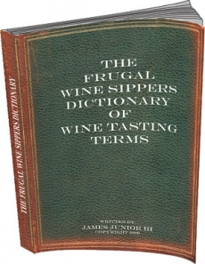 Ebook cover: The Wine Sippers Dictionary of Wine TastingTerms