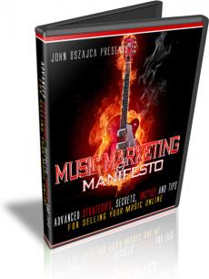 Ebook cover: Music Marketing Manifesto