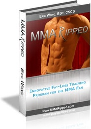 Ebook cover: MMA Ripped