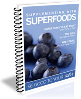 Ebook cover: Supplementing With Superfoods