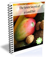 Ebook cover: The Seven Secrets to a Good Diet