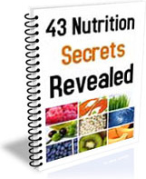 Ebook cover: 43 Nutrition Secrets Revealed