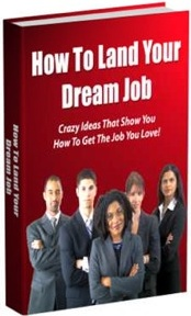 Ebook cover: How To Land Your Dream Job