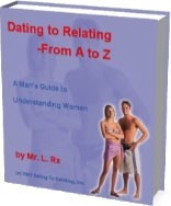 Ebook cover: Dating To Relating - From A to Z