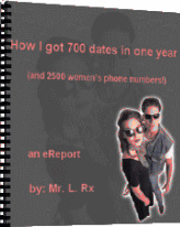Ebook cover: How I got 700 Dates in One Year