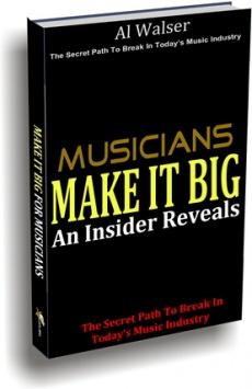 Ebook cover: Musicians Make It Big