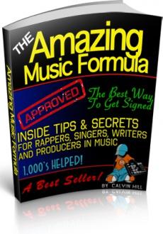 Ebook cover: The Amazing Music Formula