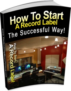 Ebook cover: How To Start A Record Label