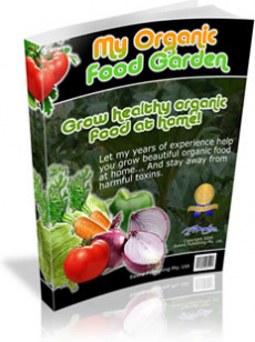 Ebook cover: My Organic Food Garden