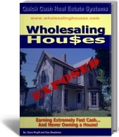 Ebook cover: Wholesaling Houses