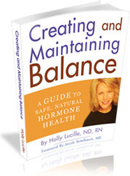 Ebook cover: Creating and Maintaining Balance
