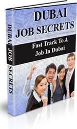 Ebook cover: Dubai Job Secrets