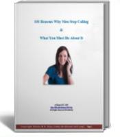 Ebook cover: 101 Reasons Why Men Stop Calling