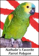 Ebook cover: Nathalie's Favorite Parrot Polygon