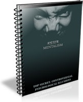 Ebook cover: The Killer Mentalism Manuscript