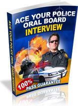 Ebook cover: Police Oral Board Guide