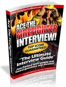 Ebook cover: Ace The Firefighter Interview