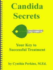 Ebook cover: Candida Secrets