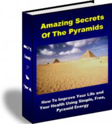 Ebook cover: Amazing Secrets Of The Pyramids