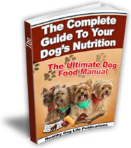 Ebook cover: The Complete Guide To Your Dog's Nutrition