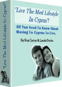 Ebook cover: Live The Med Lifestyle In Cyprus