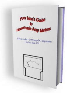 Ebook cover: Poor Man's Guide to Homemade Amp Meters