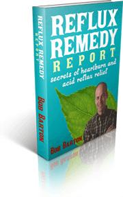 Ebook cover: Reflux Remedy Report