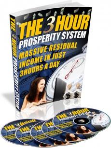Ebook cover: 3 Hour Prosperity Guide