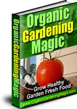 Ebook cover: Organic Gardening Magic