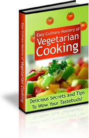 Ebook cover: Easy Culinary Mastery of Vegetarian Cooking