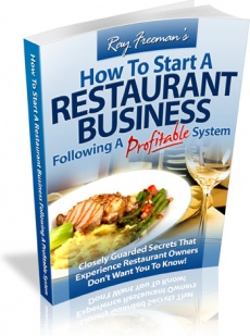 Ebook cover: How To Start A Restaurant Business