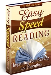 Ebook cover: Easy Speed Reading