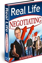Ebook cover: Real Life NEGOTIATING