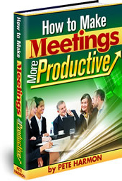 Ebook cover: How to Make Meetings More Productive