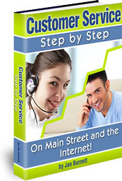 Ebook cover: Customer Service Step by Step