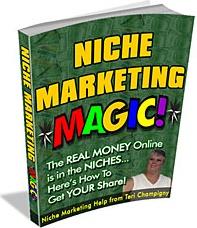 Ebook cover: Niche Marketing Magic!