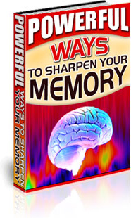Ebook cover: Powerful Ways to Sharpen Your Memory