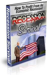 Ebook cover: Recession Suvival