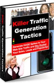 Ebook cover: Killer Traffic Generation Tactics