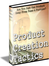Ebook cover: Product Creation Tactics