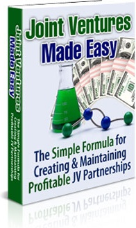 Ebook cover: Joint Ventures Made Easy