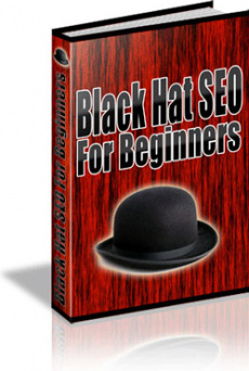 Ebook cover: Black Hat SEO For Beginners