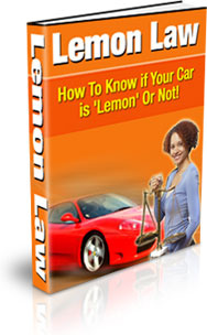 Ebook cover: Lemon Law
