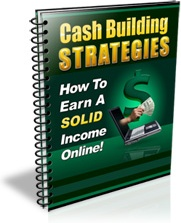 Ebook cover: Cash Building Strategies